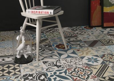 Patchwork Encaustic Lifestyle Tiles