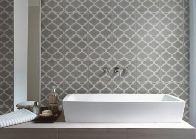 Trellis Encaustic Lifestyle Tiles